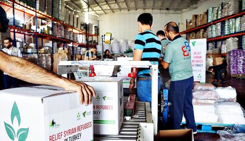 Foto Terjun Langsung ke Suriah, Dompet Dhuafa Salurkan Bantuan Senilai US$25 Ribu