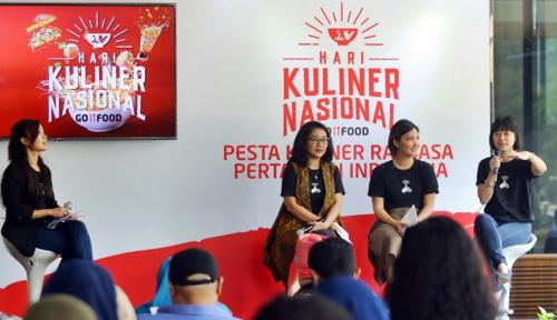 Foto Go-Jek Gelar Hari Kuliner Nasional Go-Food di 11 Kota