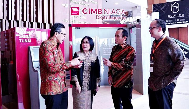 Foto Berita CIMB Niaga Jadi Partner Utama IndoBuildTech Expo 2018