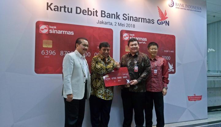 Foto Berita Bank Sinarmas Bidik Penerbitan 200 Ribu Kartu GPN