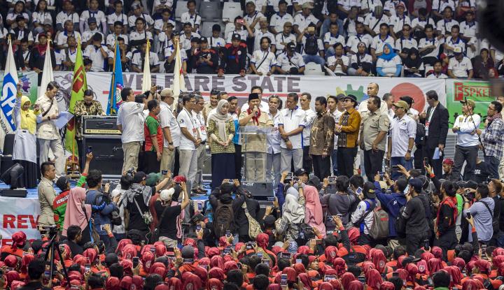 Foto Berita DPR: Tak Masalah Buruh Dukung Prabowo