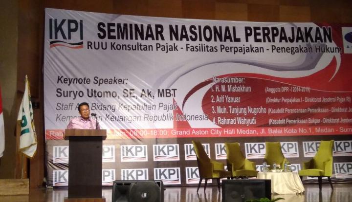 Foto Berita Demi Bantu Jokowi Mereformasi Perpajakan, Misbakhun Getol Suarakan RUU Konsultan Pajak