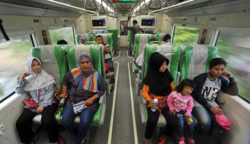 Foto KA Bandara Minangkabau Diresmikan, Masyarakat Diminta Gunakan Transportasi Massal