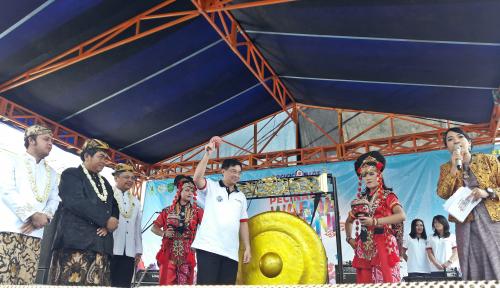 Foto Pacific Paint Percantik Pasar Kanoman Cirebon