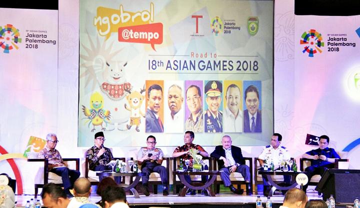Foto Berita Progres Persiapan Asian Games 2018 Sudah 90%