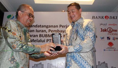 Foto Bank DKI Permudah Pembayaran Iuran Peserta BPJS Ketenagakerjaan
