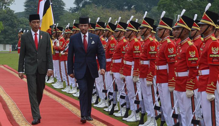 Foto Berita Jokowi Pimpin Pertemuan Bilateral dengan Sultan Brunei