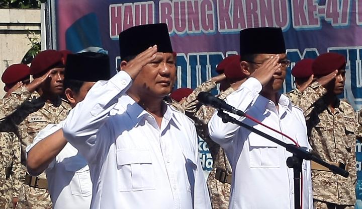 Foto Berita Pilkada 2018, Prabowo: Jangan Tegang