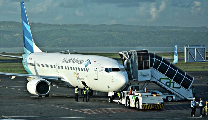 Foto Berita Garuda: Pencabutan 'EU Flight' Bakal Perketat Persaingan