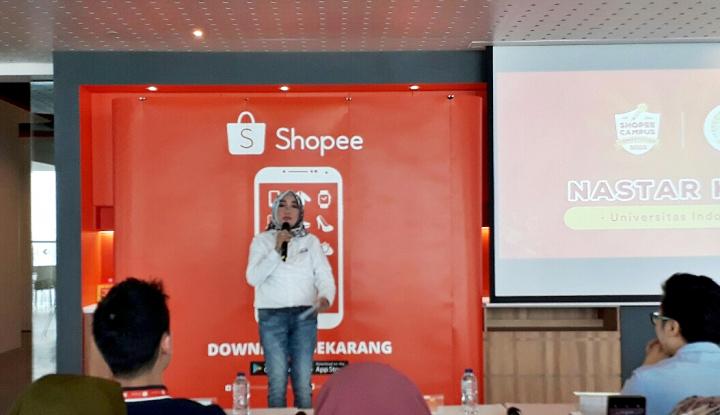 Foto Berita Tim Nastar Keju Keluar Sebagai Pemenang Shopee Campus Competition