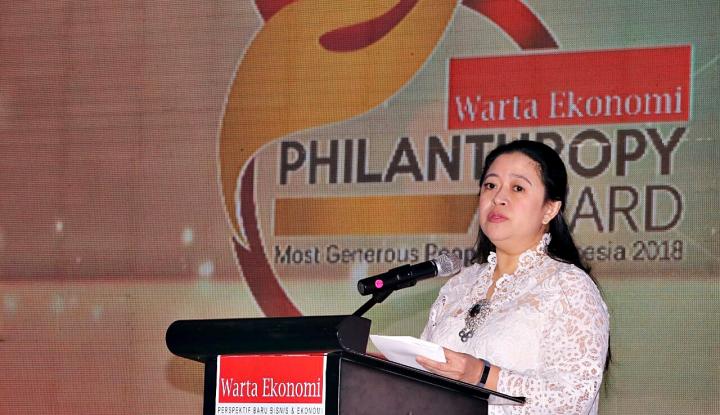 Foto Berita Menko Puan Dorong Finlantrop Sinergi dengan Pemerintah