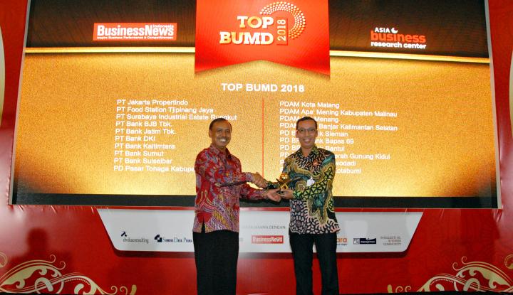 Foto Berita Kinerja Meningkat, Bank DKI Raih 2 Penghargaan
