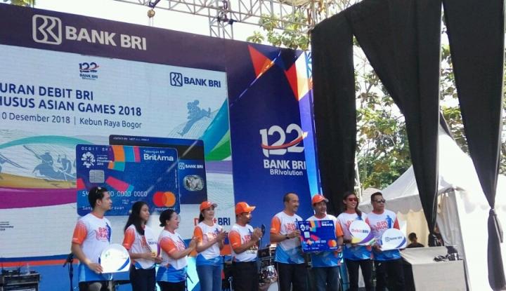 Foto Berita Sosialisasikan Asian Games 2018, BRI Gelar Sunday Fest