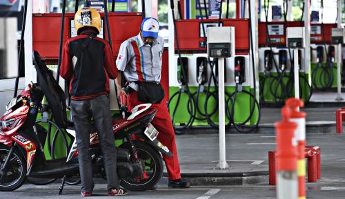 Foto Tjhai Chui Mie Dukung Penerapan Pogram Transaksi Cashless di SPBU