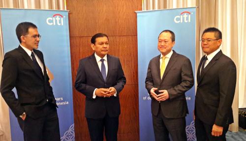 Foto Kuartal I 2018, Citibank Bukukan Laba Rp584 Miliar