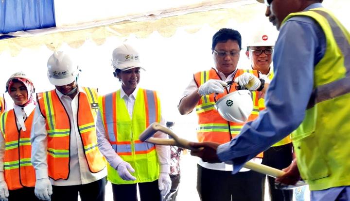 Rini Soemarno Lakukan Inspeksi Bandara Asian Games - Warta Ekonomi