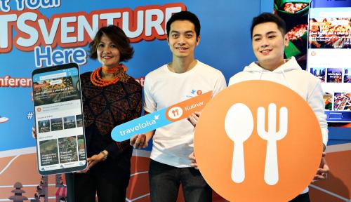 Foto Luncurkan Layanan Kuliner, Traveloka Jangkau Tujuh Kota