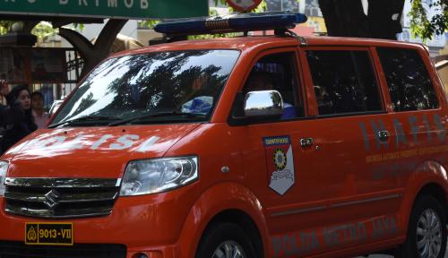 Foto Polda Kalsel Lakukan Shalat Gaib Atas Gugurnya Anggota Brimob