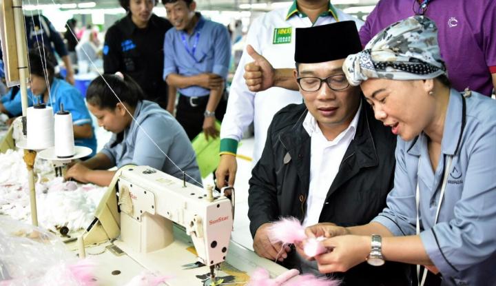 Foto Berita Ridwan Kamil Janji Jaga Stabilitas Investasi di Jabar