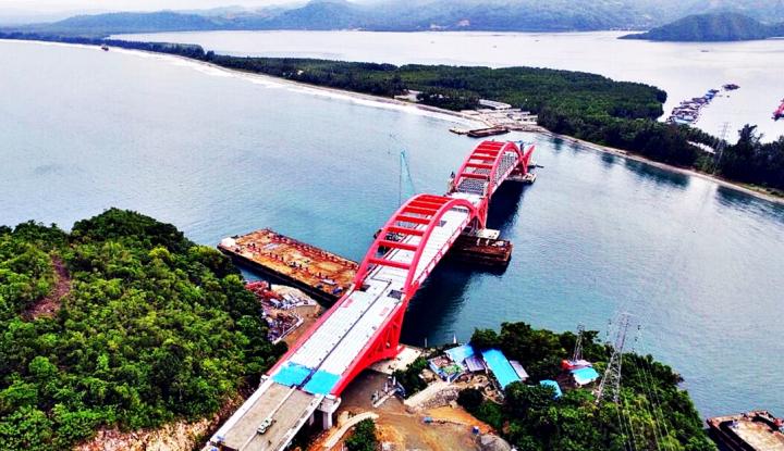 Jembatan Duplikat Siak 2 Ditarget Rampung Juni 2018