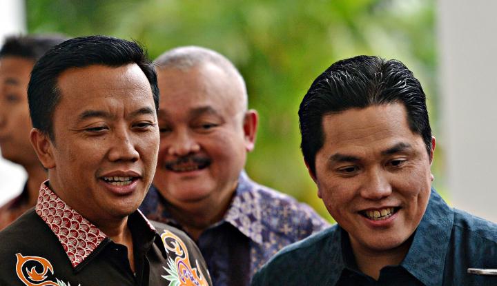 Jokowi Kerap Ofensif, Erick Thohir Bilang Begini