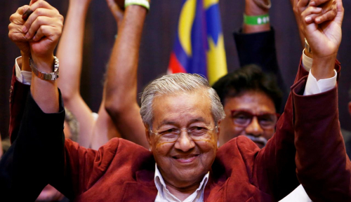 Foto Mahathir Mohammad Klaim Hanya Ingin Berkuasa Selama 2 Tahun