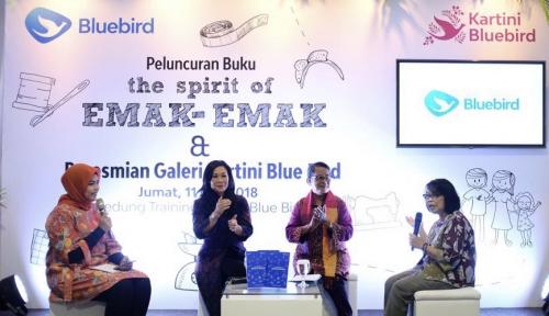 Foto Blue Bird Luncurkan Buku