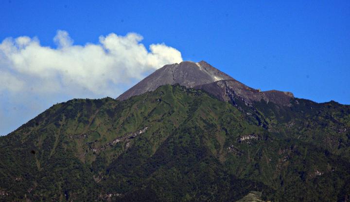 Alhamdulillah, Gunung Merapi Lebih Tenang di Hari Lebaran - Warta Ekonomi