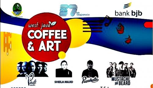 Foto Rayakan HUT ke-57, Bank BJB Warnai West Java Coffee & Art