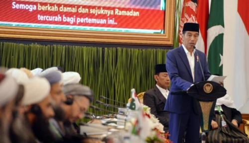 Foto Tokoh Agama Apresiasi Bantuan Presiden Terhadap Pesantren