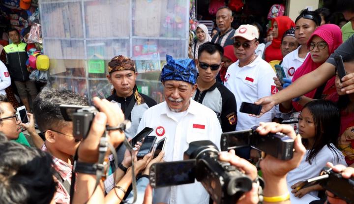 Foto Berita Debat Pilgub, Pesan Penutup Deddy Mizwar: Ikan Tongkol...
