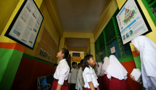 Foto Miris, Anak Pengidap HIV AIDS Dilarang Sekolah di Desa Nainggolan, Sumut
