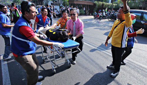 Foto BPJS Siap Tanggung Pekerja Korban Bom Surabaya
