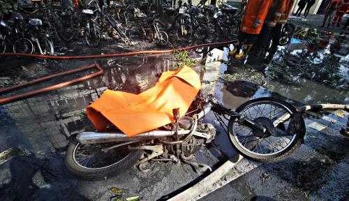 Foto Pemerintah Beri Santunan untuk Korban Tewas Bom Rp15 Juta