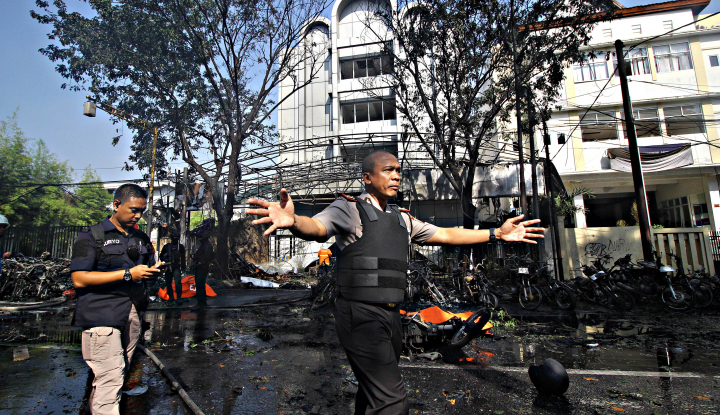 Foto Berita Polisi Minta Masyarakat Jangan Sebar Foto Korban Pengeboman Surabaya