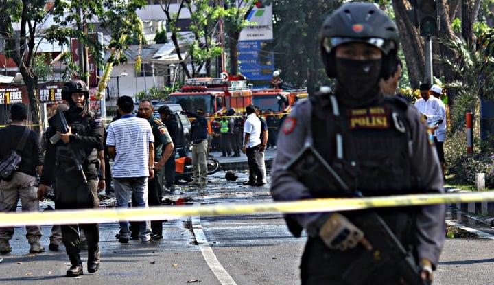 Foto Berita Polisi: Jakarta Masuk Status Siaga Satu