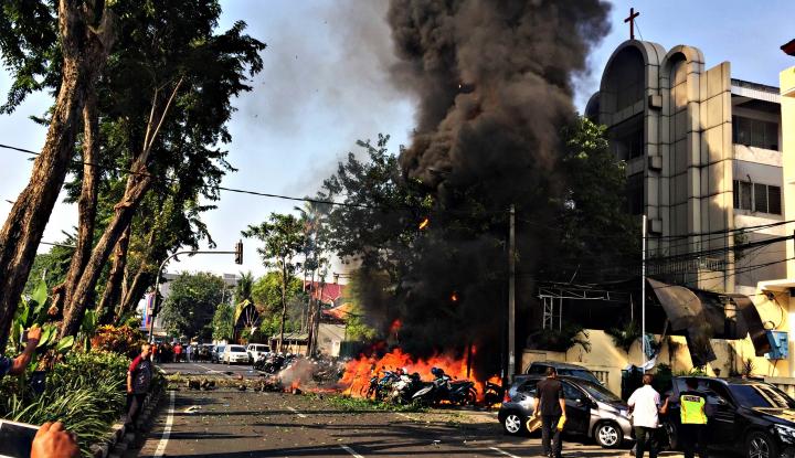 Foto Berita Korban Pengeboman Gereja di Surabaya Jadi 13 Orang