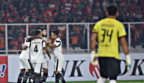 Foto Madura United Taklukkan PSM 3-0