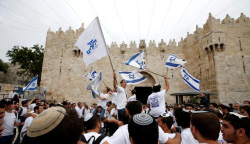 Foto Ketika Lagu Kebangsaan Israel Berkumandang di Uni Emirat Arab