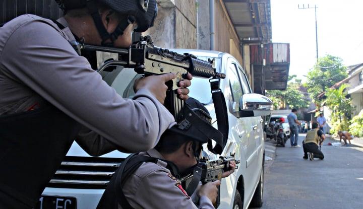 pengadilan kabulkan permintaan kompensasi istri polisi korban teroris