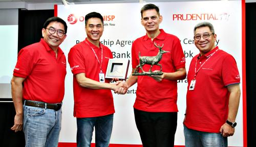 Foto Prudential-Bank OCBC NISP Jalin Kemitraan Bancassurance