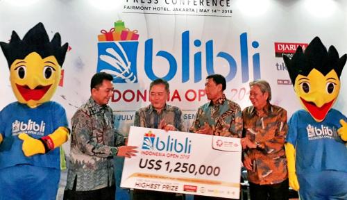 Foto Blibli Indonesia Open Rebutkan Hadiah Rp17,5 Miliar