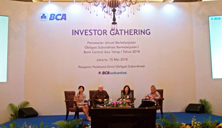 Foto Berita Pertama Kalinya, BCA Terbitkan Obligasi Subordinasi Berkelanjutan