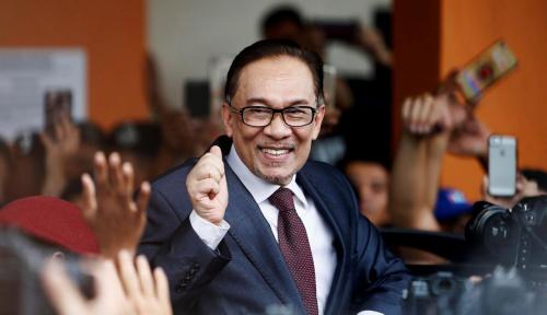 Foto Resmi, Anwar Ibrahim Bebas dari Penjara Malaysia