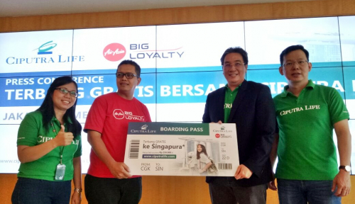 Foto Sambut Ramadan, Ciputra Life Berikan Anggota AirAsia Asuransi Gratis