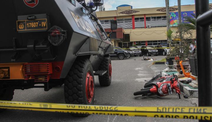 Foto Berita Polisi Amankan Keluarga Terduga Teroris Mapolda Riau