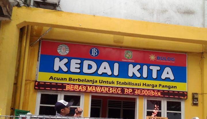 Foto Berita TPID Dirikan Kedai Kita, Kendalikan Inflasi di Medan