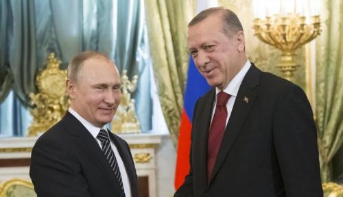 Foto Terkait Kondisi di Suriah, Putin-Erdogan Nyatakan Siap Bertemu dalam Waktu Dekat