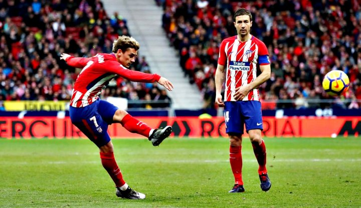 Atletico Madrid Atasi Levante Lewat Penalti Griezmann