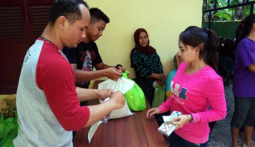 Foto BPJS Ketenagakerjaan Sumbagut Gelar Pasar Murah